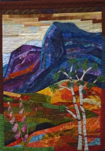 Norway - Quilt by Inge Duin, www.ingeduin.nl
